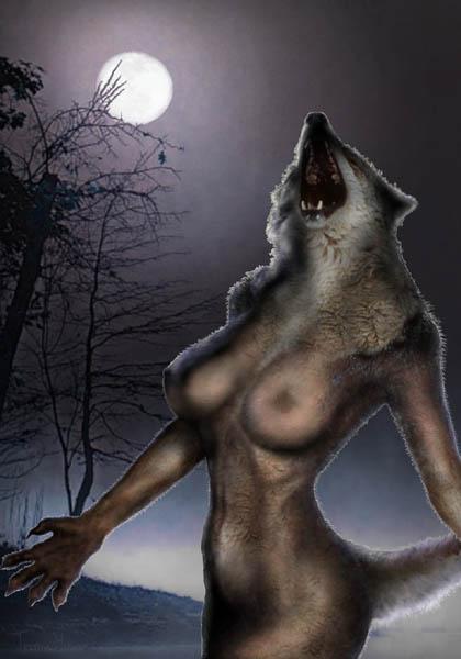 Nude werewolf #5